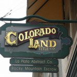 Colorado Land