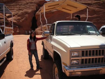Antelope Canyon Jeep Navajo