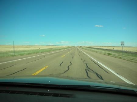 Road to Tucumcari New Mexico