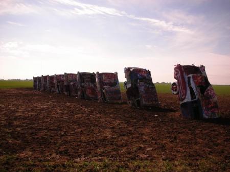 Amarillo Texas cadillac ranch