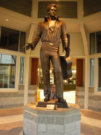 Memphis statua di Elvis